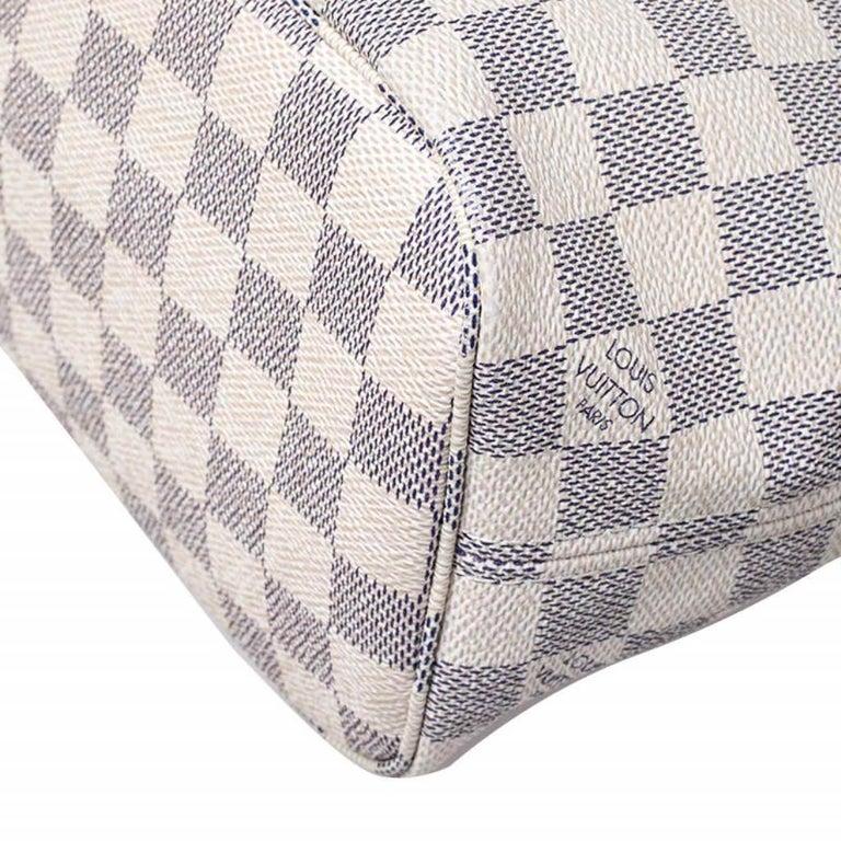 Louis Vuitton Damier Azur Canvas Neverfull PM Bag 2