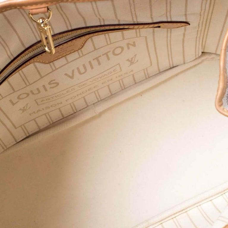 Louis Vuitton Damier Azur Canvas Neverfull PM Bag 5