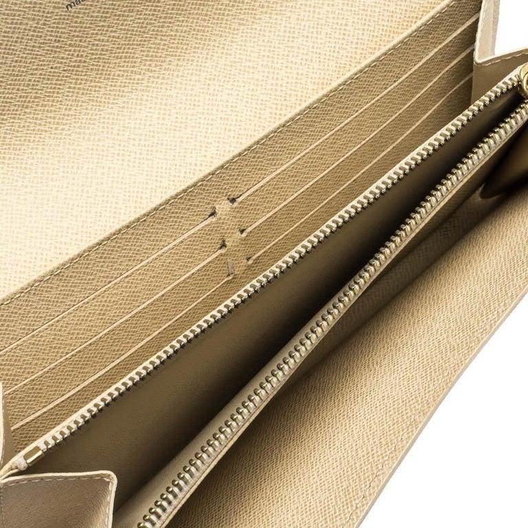 Louis Vuitton Damier Azur Canvas Sarah Wallet For Sale 1