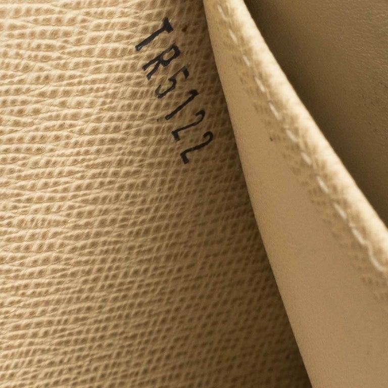 Louis Vuitton Damier Azur Canvas Sarah Wallet For Sale 3