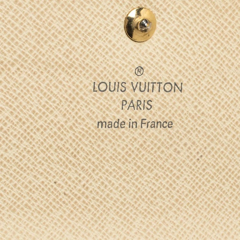 Louis Vuitton Damier Azur Canvas Sarah Wallet For Sale 4