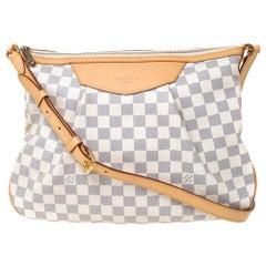 Louis Vuitton Damier Azur Canvas Siracusa MM Bag