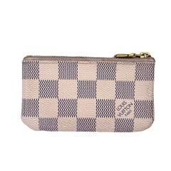 Louis Vuitton Damier Azur Keychain Pochette ID Cardholder