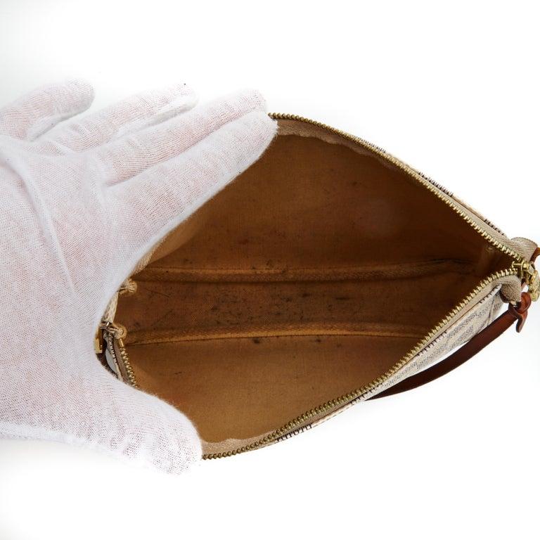 Louis Vuitton Damier Azur Pochette Accessories NM Bag (2012) For Sale 1