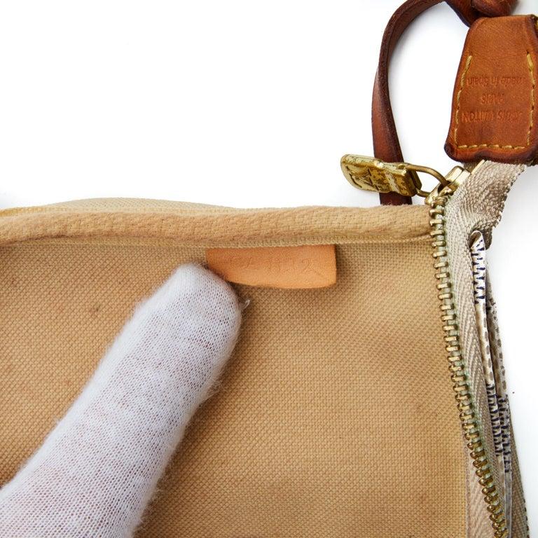 Louis Vuitton Damier Azur Pochette Accessories NM Bag (2012) For Sale 2