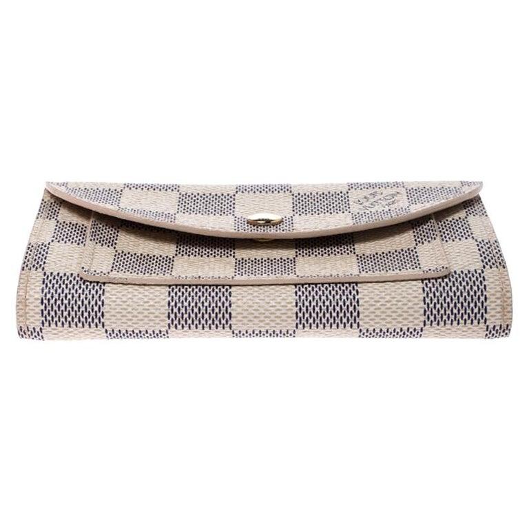 Louis Vuitton Damier Azur Pochette Solo Belt Bag For Sale 1