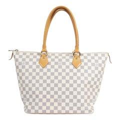 Louis Vuitton Damier Azur Saleya Bag