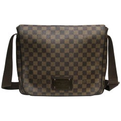 LOUIS VUITTON Damier Canvas Brooklyn GM Messenger Bag