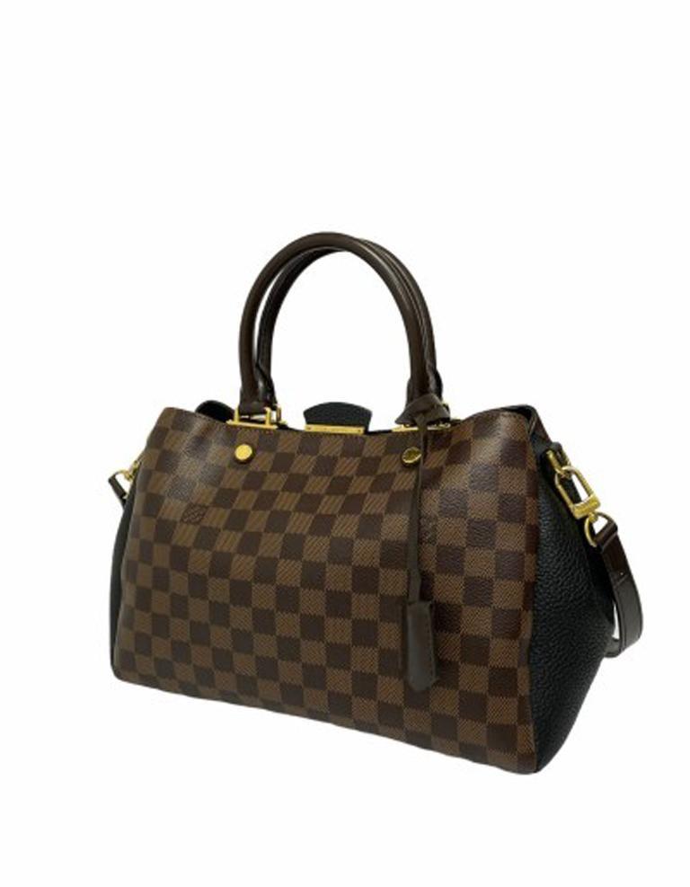 Louis Vuitton Damier Canvas Shoulder Bag   In Good Condition For Sale In Torre Del Greco, IT