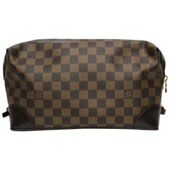 LOUIS VUITTON Damier Canvas Trousse Vaslav Cosmetic Bag