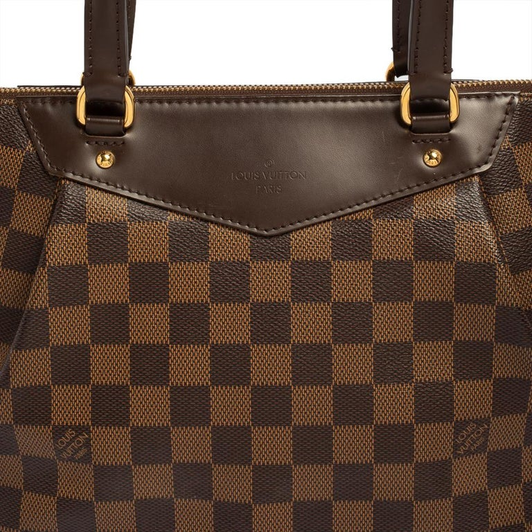 Louis Vuitton Damier Coated Canvas Westminster PM Tote For Sale 5