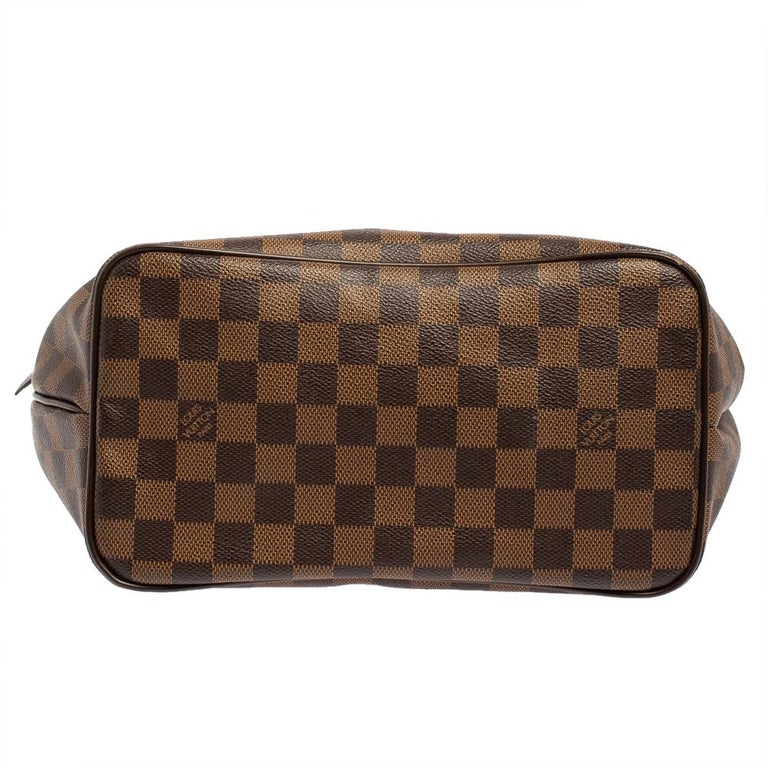 Women's Louis Vuitton Damier Coated Canvas Westminster PM Tote For Sale