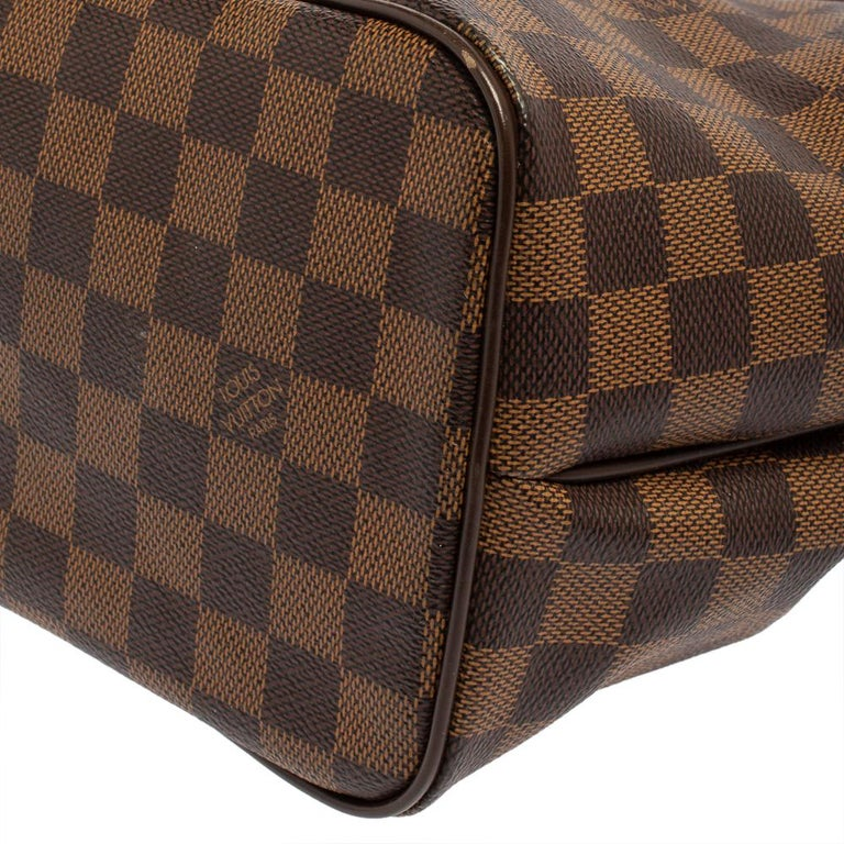 Louis Vuitton Damier Coated Canvas Westminster PM Tote For Sale 4