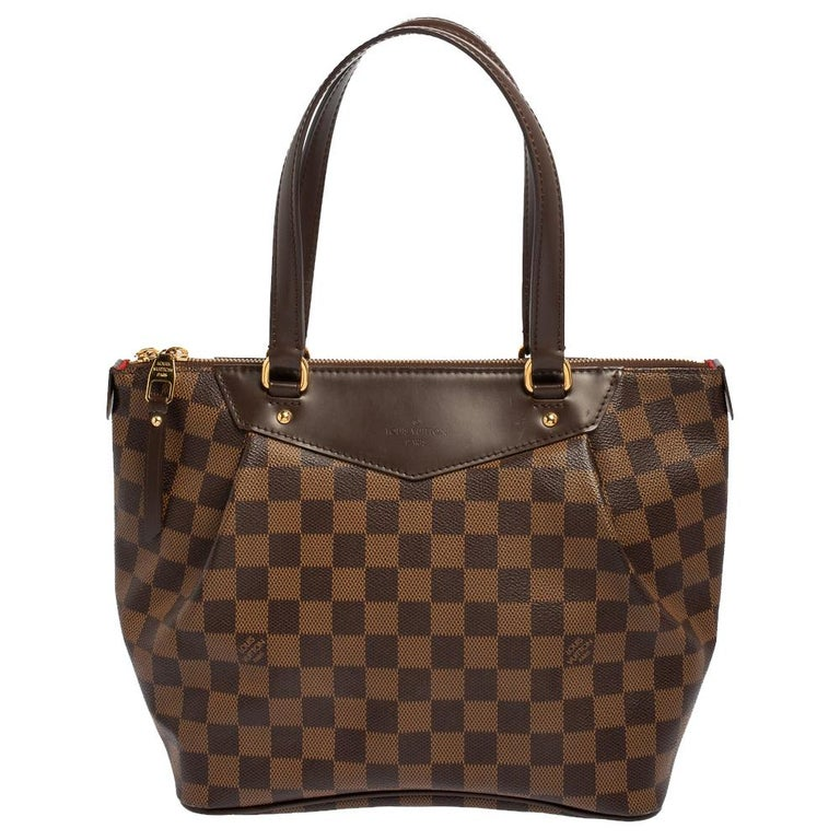 Louis Vuitton Damier Coated Canvas Westminster PM Tote For Sale