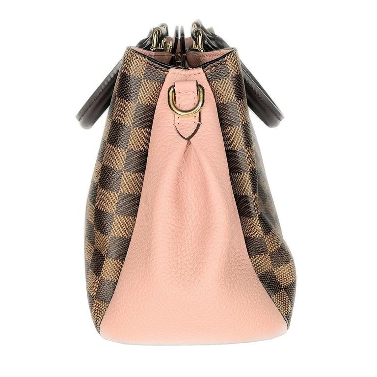 Black Louis Vuitton Damier Ebene Brittany Handbag Satchel For Sale