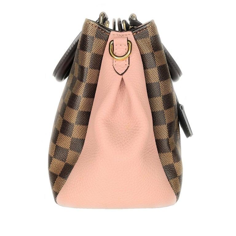 Louis Vuitton Damier Ebene Brittany Handbag Satchel In Excellent Condition For Sale In Scottsdale, AZ