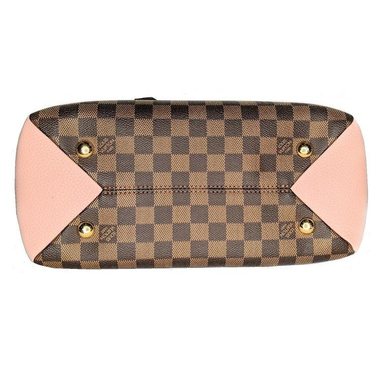Women's Louis Vuitton Damier Ebene Brittany Handbag Satchel For Sale
