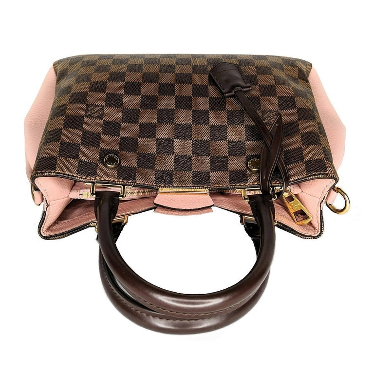 Louis Vuitton Damier Ebene Brittany Handbag Satchel For Sale 1