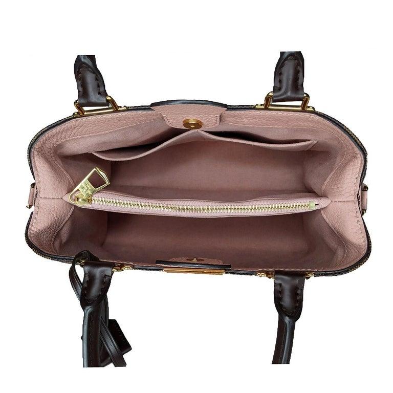 Louis Vuitton Damier Ebene Brittany Handbag Satchel For Sale 2