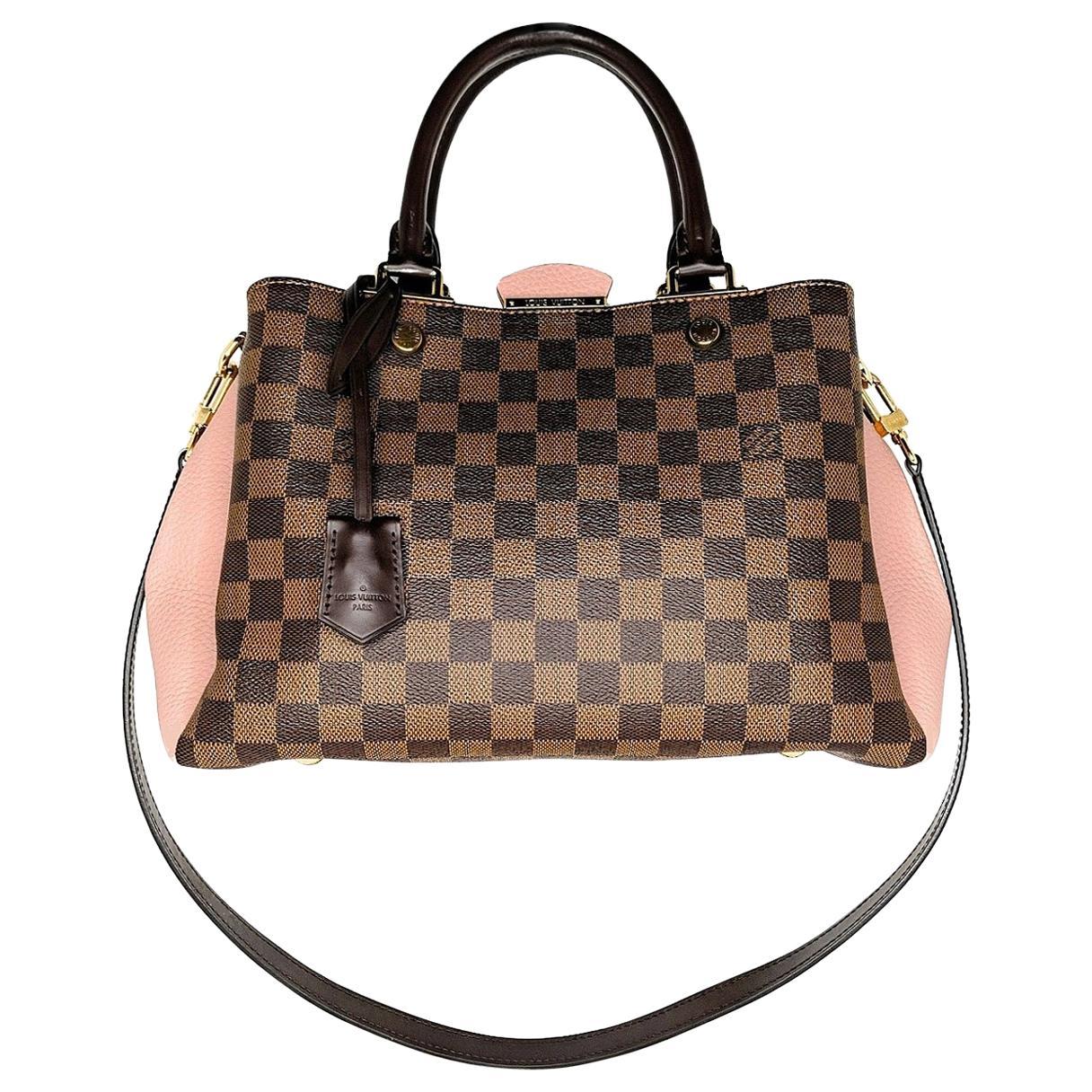 Louis Vuitton Damier Ebene Brittany Handbag Satchel