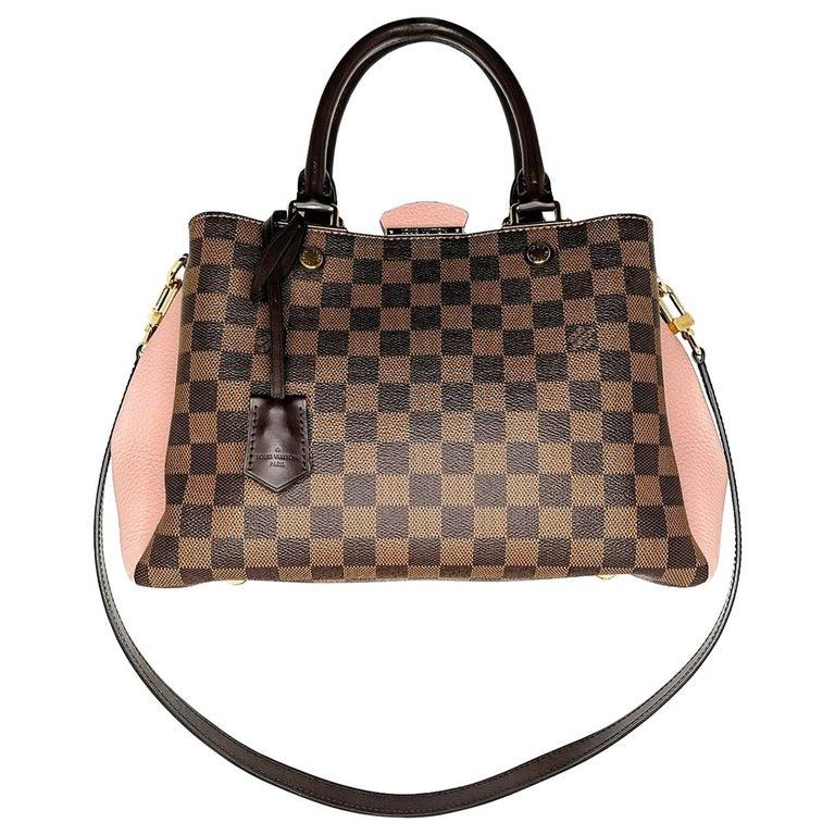 Louis Vuitton Damier Ebene Brittany Handbag Satchel For Sale