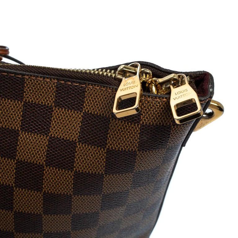 Louis Vuitton Damier Ebene Canvas Belmont Bag For Sale 9