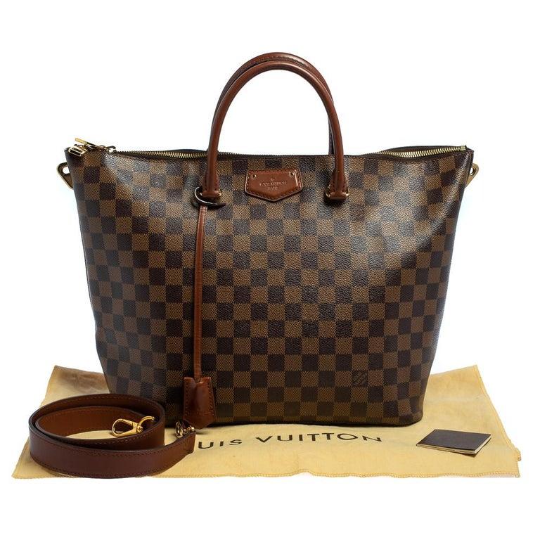 Louis Vuitton Damier Ebene Canvas Belmont Bag For Sale 11