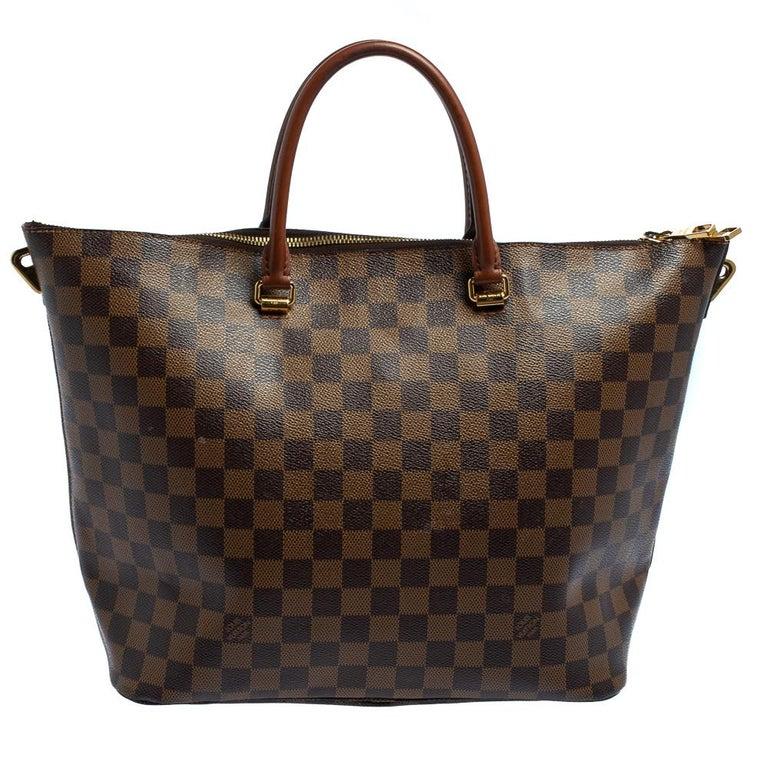 Louis Vuitton Damier Ebene Canvas Belmont Bag In Good Condition For Sale In Dubai, Al Qouz 2