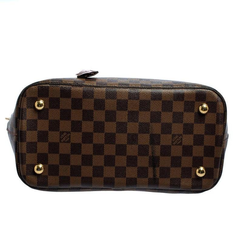 Women's Louis Vuitton Damier Ebene Canvas Belmont Bag For Sale