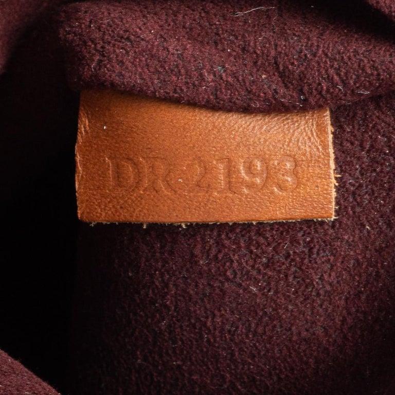 Louis Vuitton Damier Ebene Canvas Belmont Bag For Sale 1