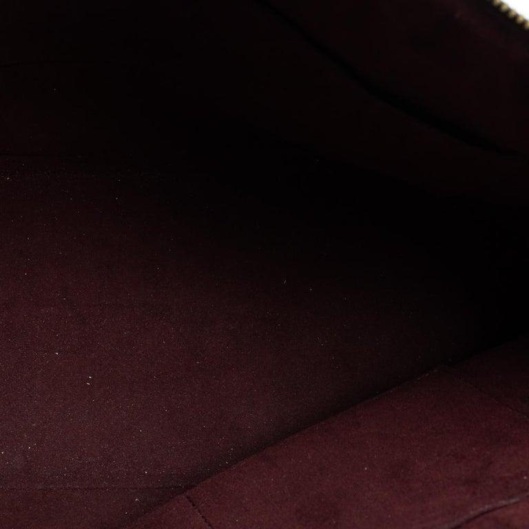 Louis Vuitton Damier Ebene Canvas Belmont Bag For Sale 3