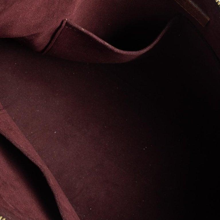 Louis Vuitton Damier Ebene Canvas Belmont Bag For Sale 4