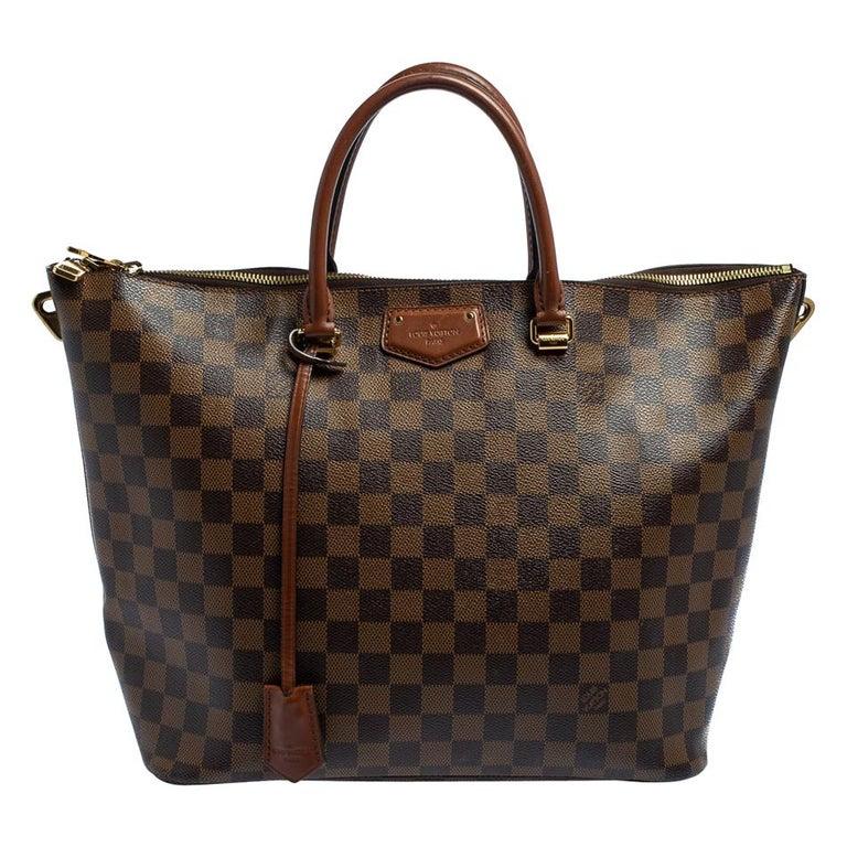 Louis Vuitton Damier Ebene Canvas Belmont Bag For Sale