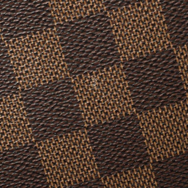 Louis Vuitton Damier Ebene Canvas Bergamo GM Bag For Sale 7