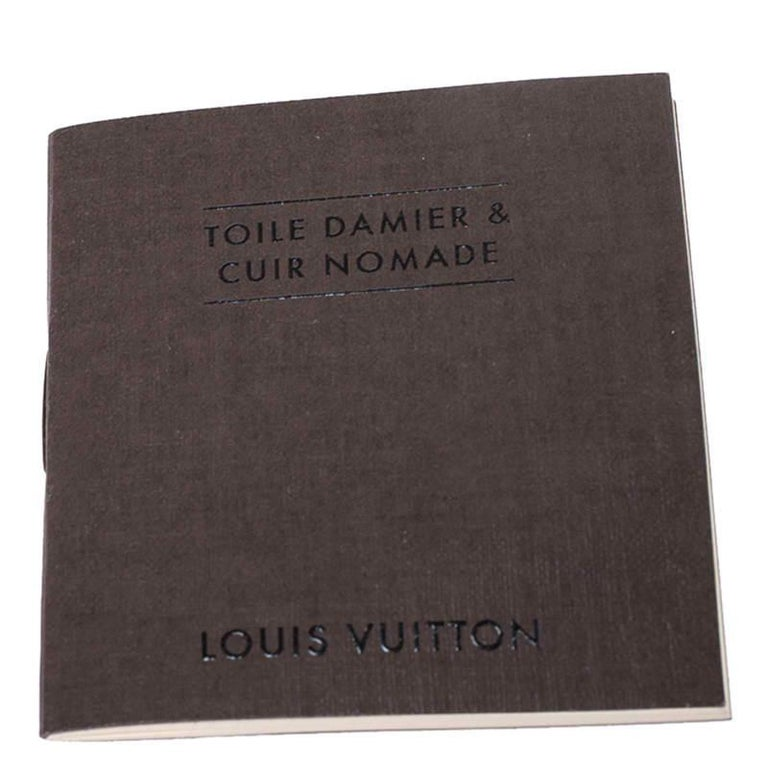 Louis Vuitton Damier Ebene Canvas Greenwich Bag For Sale 6