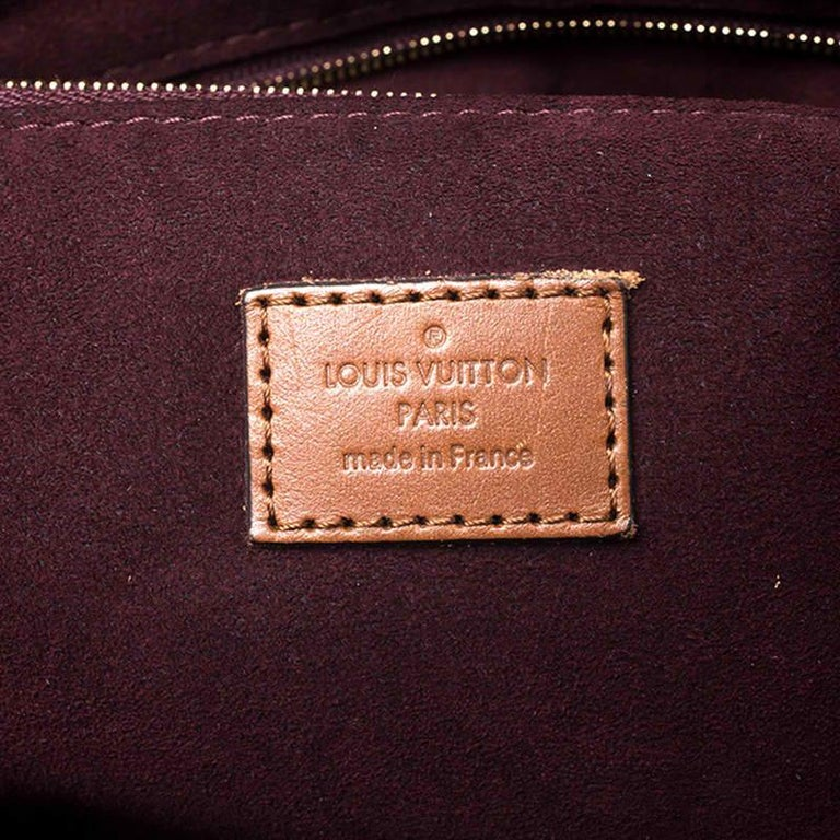 Louis Vuitton Damier Ebene Canvas Greenwich Bag For Sale 7