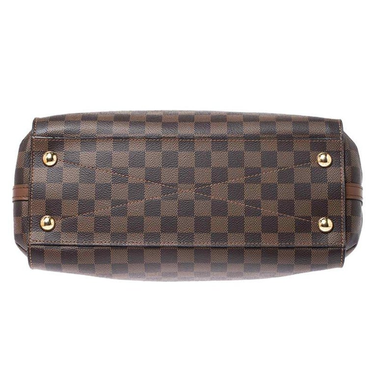 Louis Vuitton Damier Ebene Canvas Greenwich Bag For Sale 8