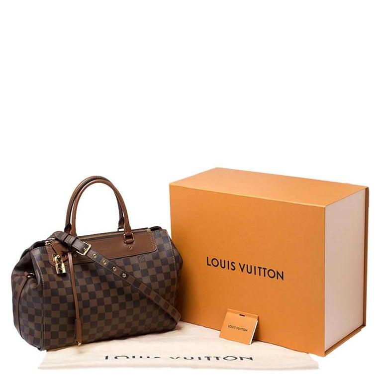 Louis Vuitton Damier Ebene Canvas Greenwich Bag For Sale 9
