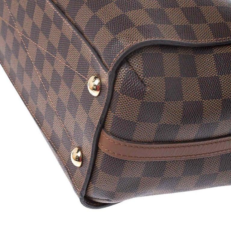 Louis Vuitton Damier Ebene Canvas Greenwich Bag For Sale 1