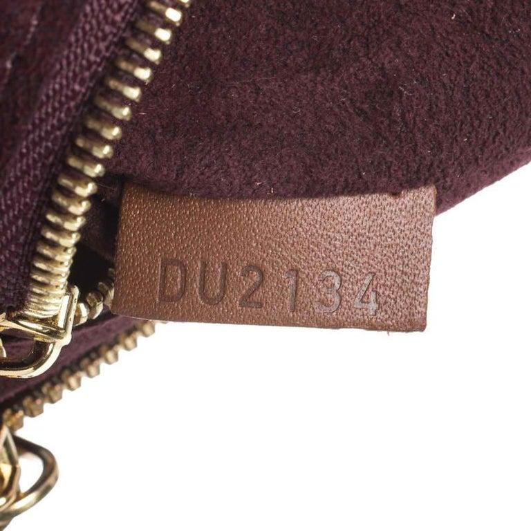 Louis Vuitton Damier Ebene Canvas Greenwich Bag For Sale 4