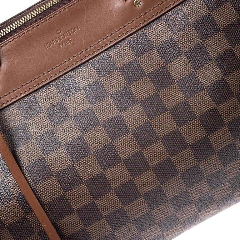 Louis Vuitton Damier Ebene Canvas Greenwich Bag For Sale 5