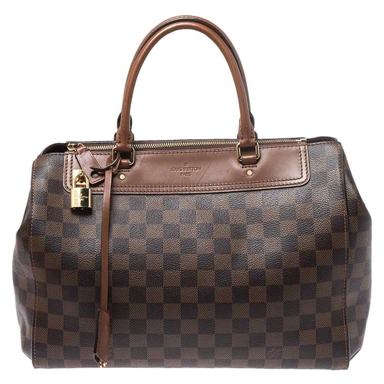 Louis Vuitton Damier Ebene Canvas Greenwich Bag For Sale