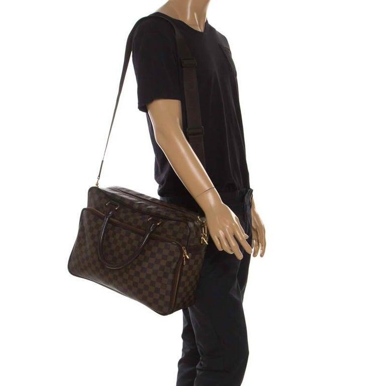 Louis Vuitton Damier Ebene Canvas Icare Business Bag In Good Condition For Sale In Dubai, Al Qouz 2