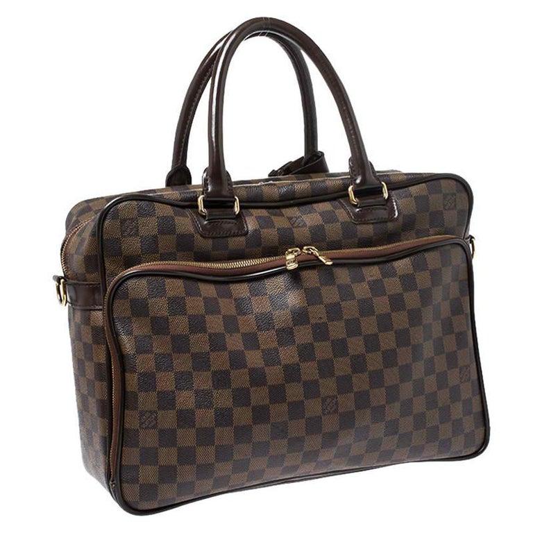 Women's Louis Vuitton Damier Ebene Canvas Icare Business Bag For Sale