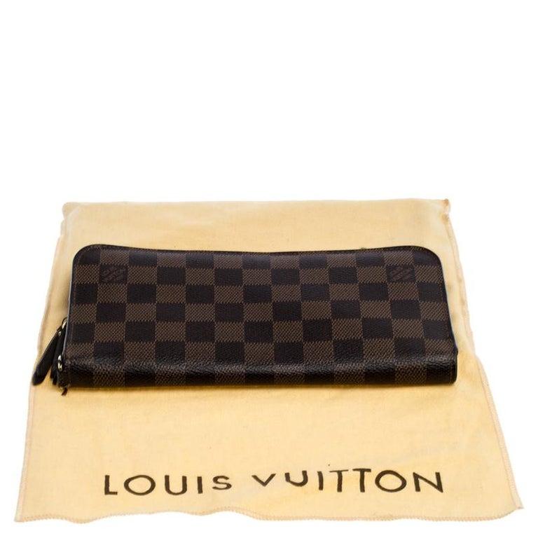 Louis Vuitton Damier Ebene Canvas Insolite Wallet 6