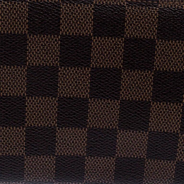 Louis Vuitton Damier Ebene Canvas Insolite Wallet In Good Condition In Dubai, Al Qouz 2