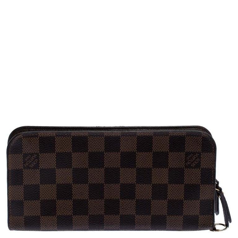 Louis Vuitton Damier Ebene Canvas Insolite Wallet 1