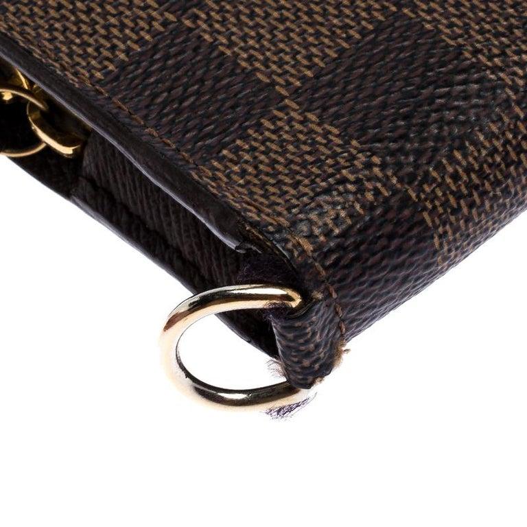 Louis Vuitton Damier Ebene Canvas Insolite Wallet 3