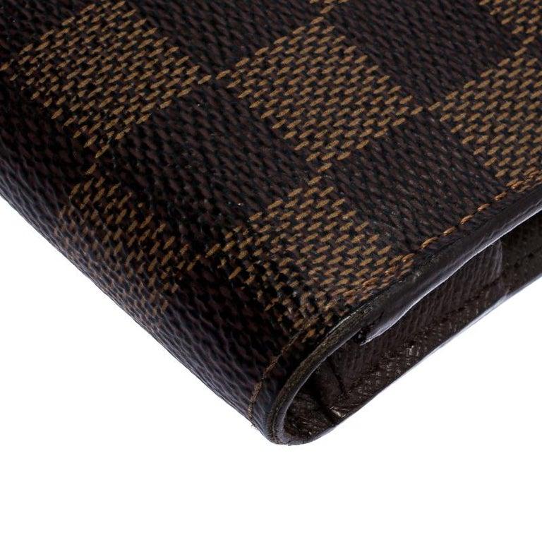 Louis Vuitton Damier Ebene Canvas Insolite Wallet 4
