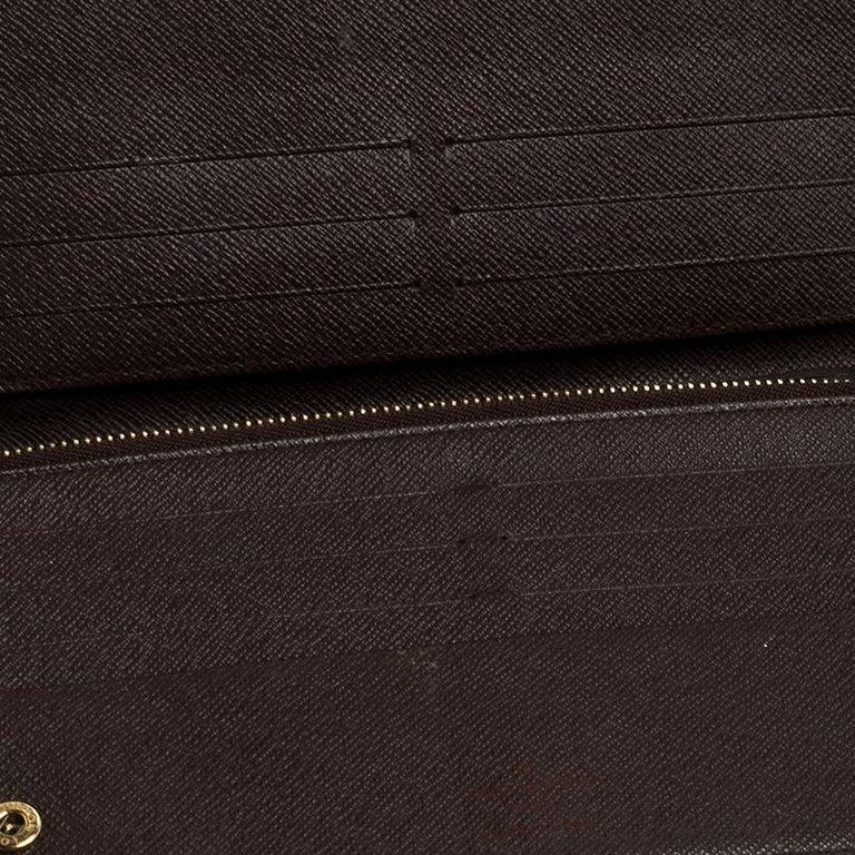 Louis Vuitton Damier Ebene Canvas Insolite Wallet 5